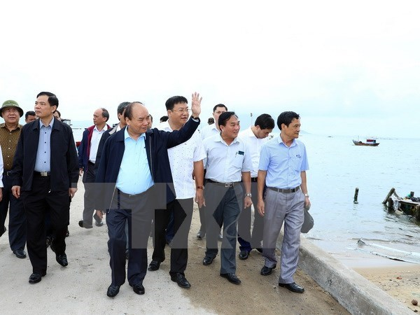 Typhon Damrey : le Premier ministre se rend a Khanh Hoa hinh anh 1