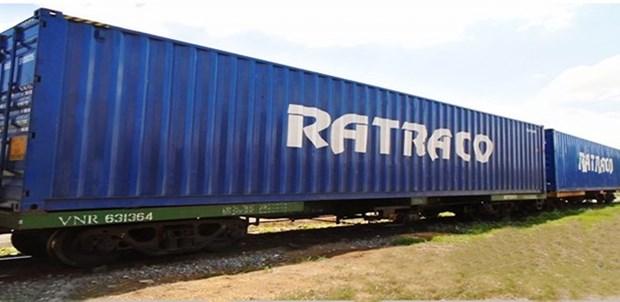 Le Vietnam achemine le premier train de conteneurs vers la Chine hinh anh 1