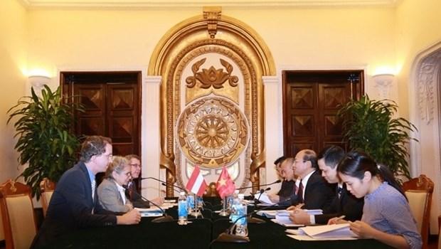 Vietnam - Autriche : volonte commune de promouvoir la cooperation bilaterale hinh anh 1