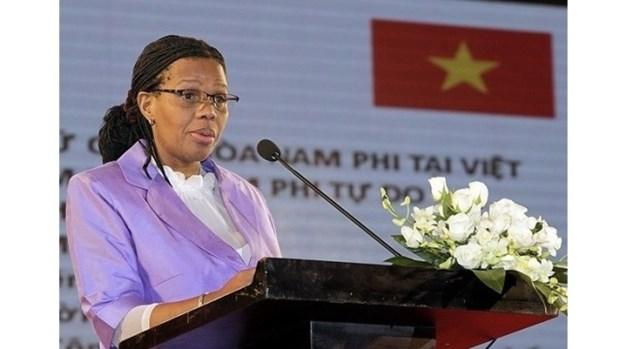 L'ambassadrice d'Afrique du Sud au Vietnam a l'honneur hinh anh 1