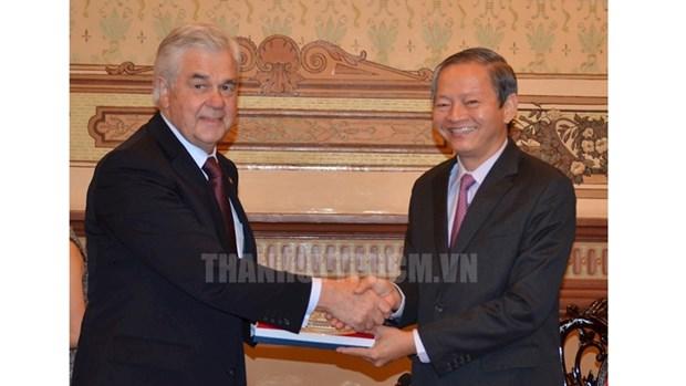 Ho Chi Minh-Ville et Hambourg renforcent leur cooperation hinh anh 1