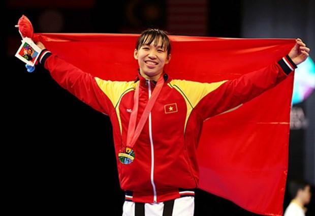 Taekwondo : Truong Thi Kim Tuyen decroche le bronze de la finale du Grand Prix mondial hinh anh 1