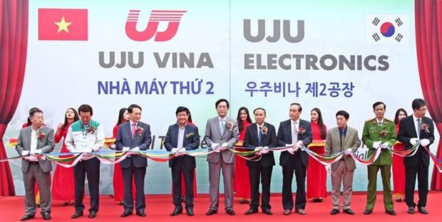 UJU Vina inaugure sa 2e usine au Vietnam hinh anh 1