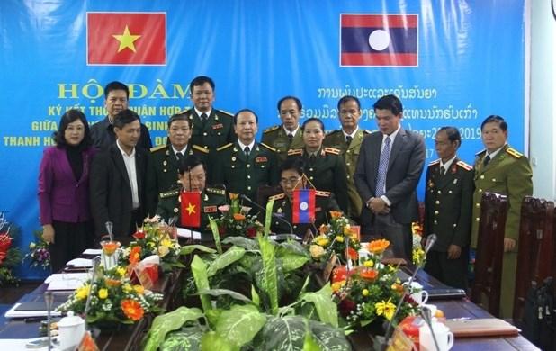 Les associations des anciens combattants de Thanh Hoa et de Houaphan main dans la main hinh anh 1
