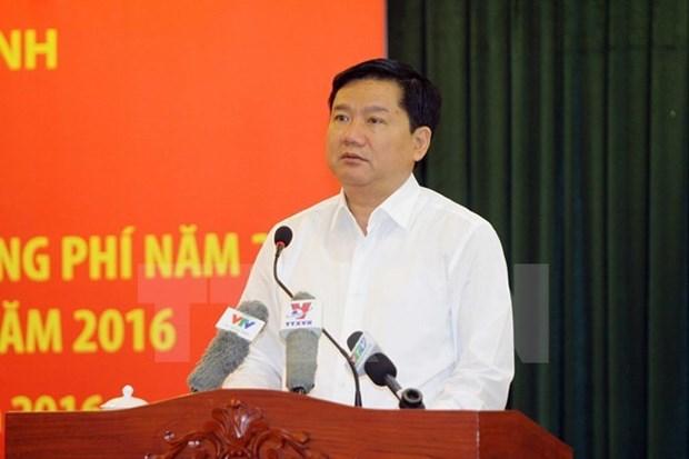 Placement en detention provisoire de Dinh La Thang hinh anh 1