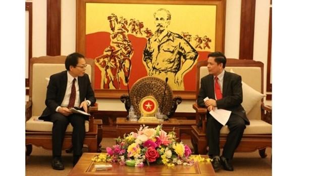 Le ministere des Transports et des Communications renforce sa cooperation avec la JICA hinh anh 1