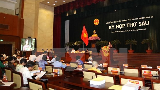 Ho Chi Minh-Ville vise une croissance de 8,5% de son PIB en 2018 hinh anh 1