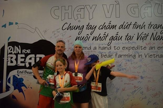 Une course pour les ours a Hanoi hinh anh 1