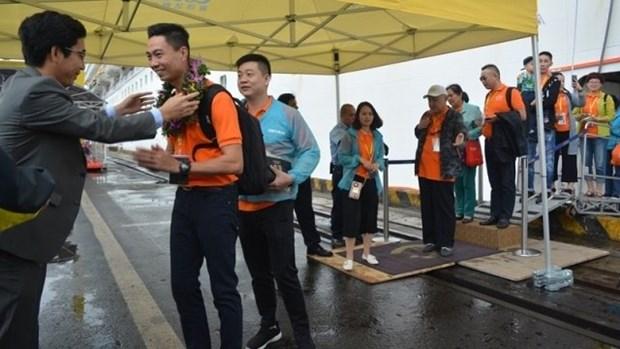 Avec 3 000 touristes a bord, le navire de croisiere Costa Fortuna debarque a Da Nang hinh anh 1