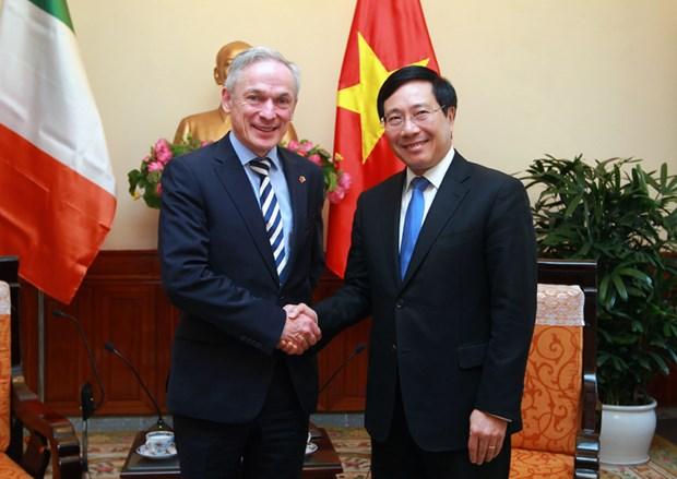 L'accord d'education avec l'Irlande aura des retombees positives sur l'economie vietnamienne hinh anh 1