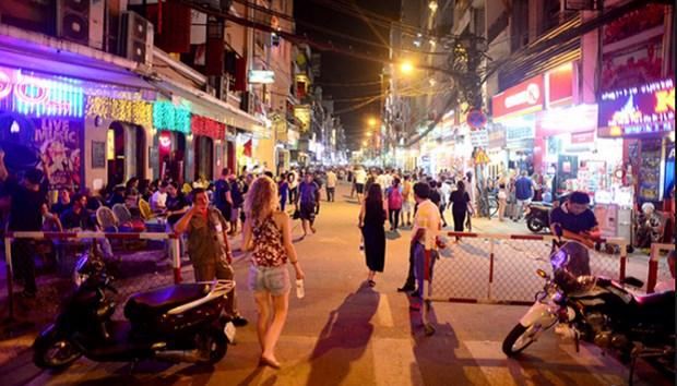 Ho Chi Minh-Ville: deux nouvelles rues pietonnes inaugurees avant le Tet hinh anh 1