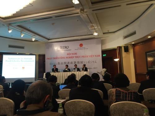 Le Japon partage son experience dans le developpement de l'industrie agroalimentaire hinh anh 1