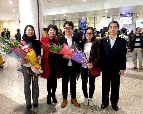 Langue : un eleve vietnamien prime a un concours de russe hinh anh 1