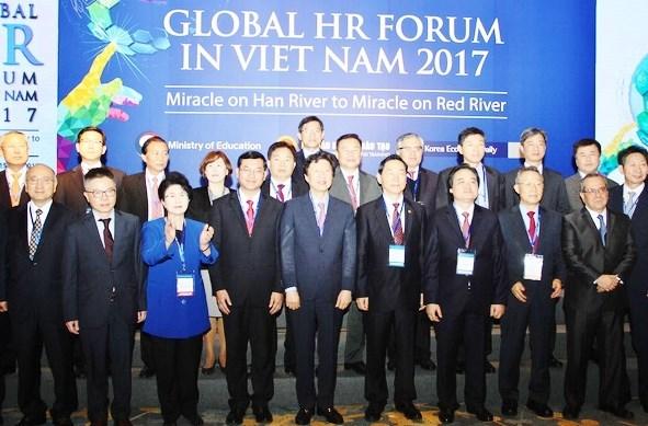 Debut du Forum mondial des ressources humaines 2017 hinh anh 1