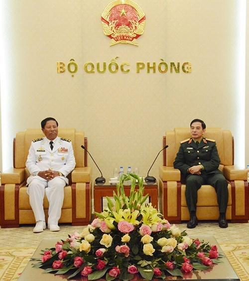 Promotion des liens entre les Marines vietnamienne et cambodgienne hinh anh 1