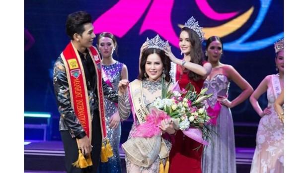 Phuong Le sacree Mrs. World Peace 2017 hinh anh 1