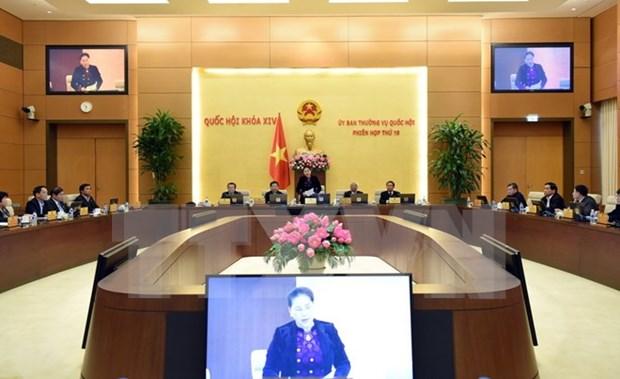 Cloture de la 19e reunion du Comite permanent de l'Assemblee nationale hinh anh 1