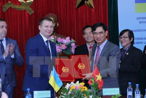 Dong Nai et Ternopil (Ukraine) cooperent pour le developpement industriel hinh anh 1