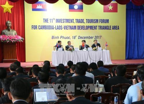 Forum economique Cambodge-Laos-Vietnam a Binh Phuoc hinh anh 1