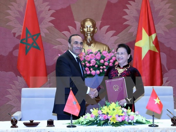 Promotion des relations parlementaires Vietnam-Maroc hinh anh 1