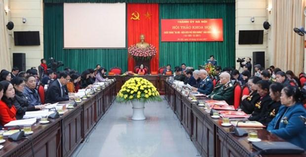 Activites commemoratives de la bataille « Hanoi – Dien Bien Phu aerien » hinh anh 1