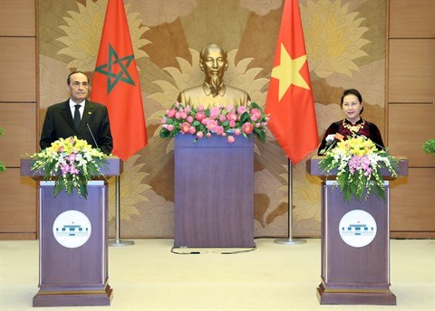 Vietnam-Maroc: L'economie sera un axe de cooperation important hinh anh 1