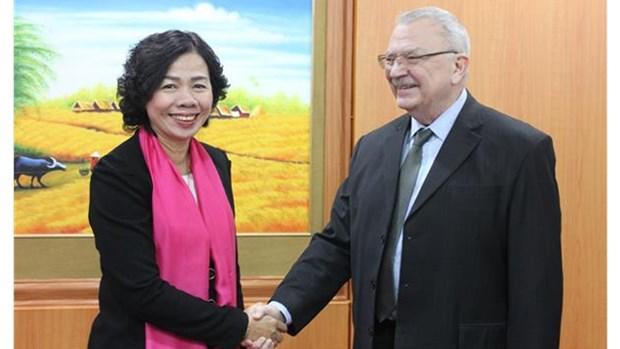 Renforcer le dialogue avec les entreprises americaines hinh anh 1