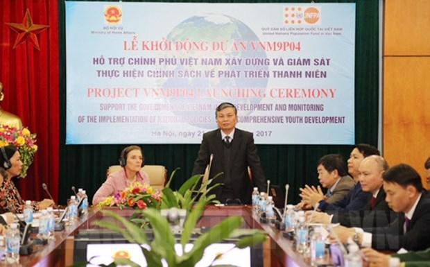 L'UNFPA finance un projet en faveur des jeunes hinh anh 1