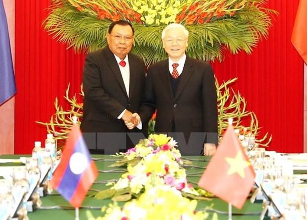 L'annee de la solidarite Vietnam-Laos, un jalon d'or dans les relations bilaterales hinh anh 1