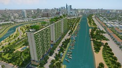 Plus de 30 millions de dollars d'investissement dans les logements verts a Ho Chi Minh-Ville hinh anh 1