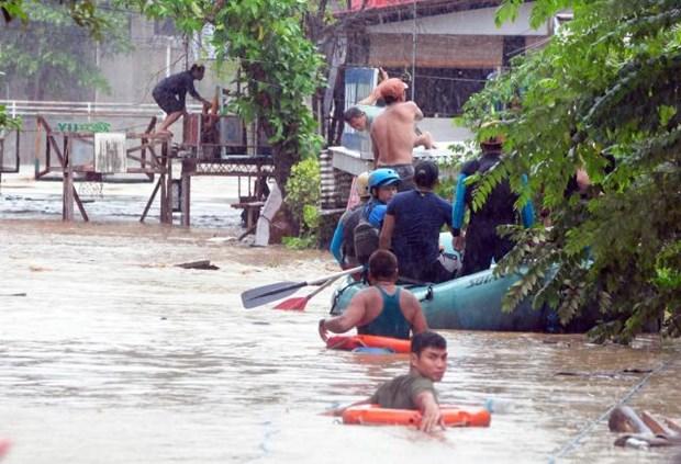 Philippines: la tempete Tembin fait 240 morts hinh anh 1