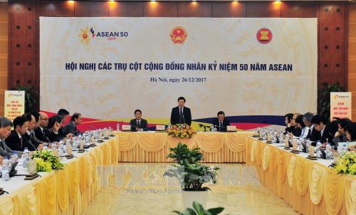 Reunion sur les contributions de ministeres et secteurs a la cooperation de l'ASEAN hinh anh 1