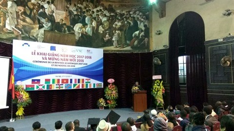 L'Institut Francophone International celebre sa rentree academique hinh anh 1