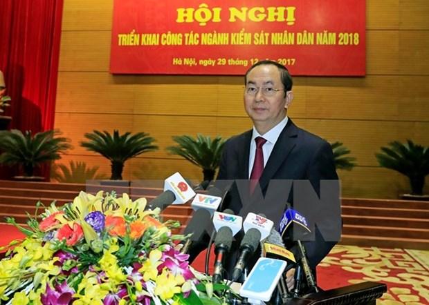 Le Parquet populaire supreme lance les missions pour 2018 hinh anh 1