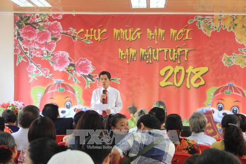 Angola : rencontre de Vietnamiens a l'occasion du Nouvel An hinh anh 1