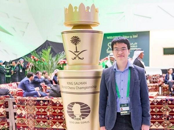Echecs : Le Quang Liem 23e mondial hinh anh 1