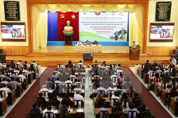Colloque sur le developpement durable du tourisme vietnamien a An Giang hinh anh 1