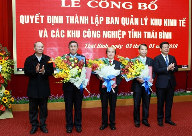 Publication de la creation de la zone economique de Thai Binh hinh anh 1