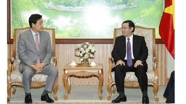 Keb Hana exhorte a investir dans la banque-finance au Vietnam hinh anh 1