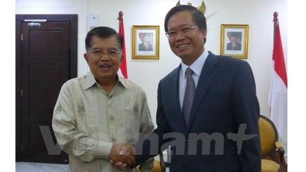 Renforcer la solidarite et promouvoir les relations entre le Vietnam et l'Indonesie hinh anh 1