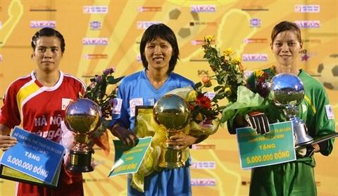 Doan Thi Kim Chi, une passe de trois historique hinh anh 2