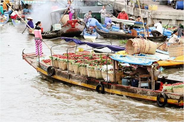 Le marche flottant de Nga Nam hinh anh 2