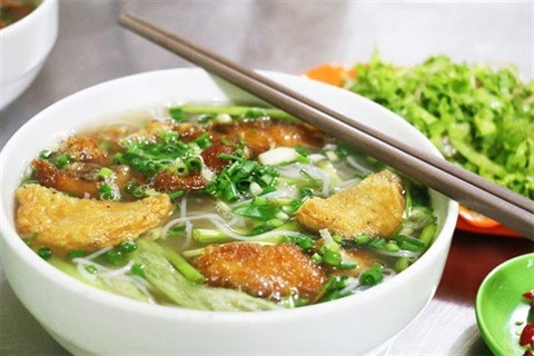 L'estuaire des soupes de nouilles de riz hinh anh 1
