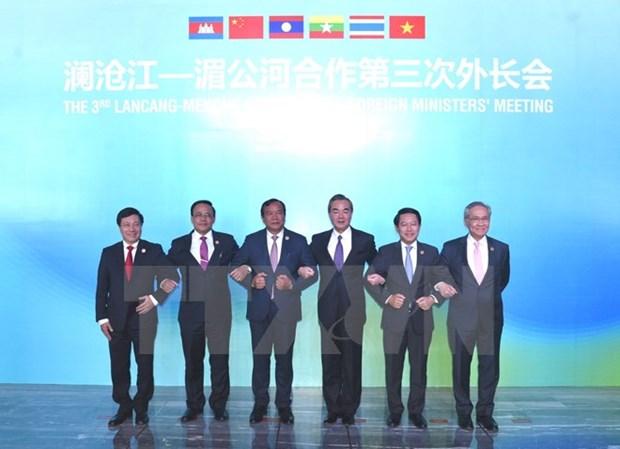 Le Vietnam participe activement a la cooperation Mekong-Lancang hinh anh 1