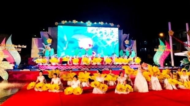 Quang Ninh : fete du camelia aux fleurs jaunes 2018 hinh anh 1