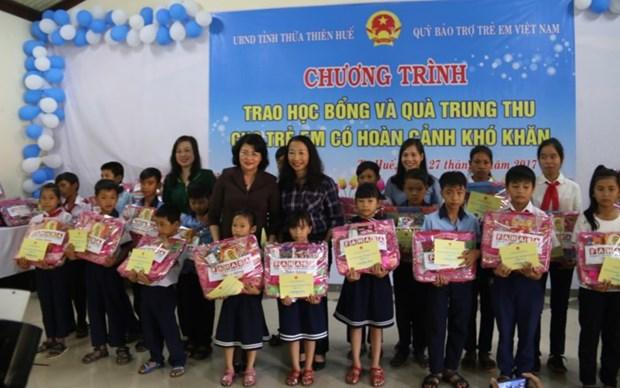 La vice-presidente Dang Thi Ngoc Thinh au 30eme anniversaire des villages SOS Vietnam hinh anh 1