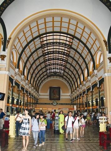 La Poste centrale, une fierte de Ho Chi Minh-Ville hinh anh 1