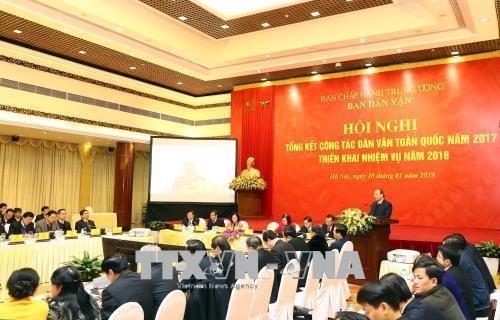 Valoriser le role des habitants dans l'edification de l'autorite saine et puissante hinh anh 1
