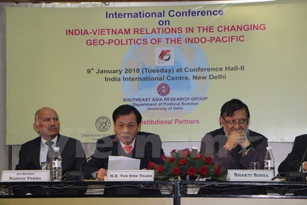 Conference internationale sur les liens Inde-Vietnam a New Delhi hinh anh 1