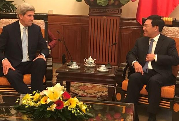 Les Etats-Unis restent un partenaire de premiere importance pour le Vietnam hinh anh 1